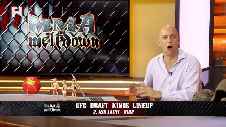 UFC Fight Night Hamburg DraftKings Picks on MMA Meltdown