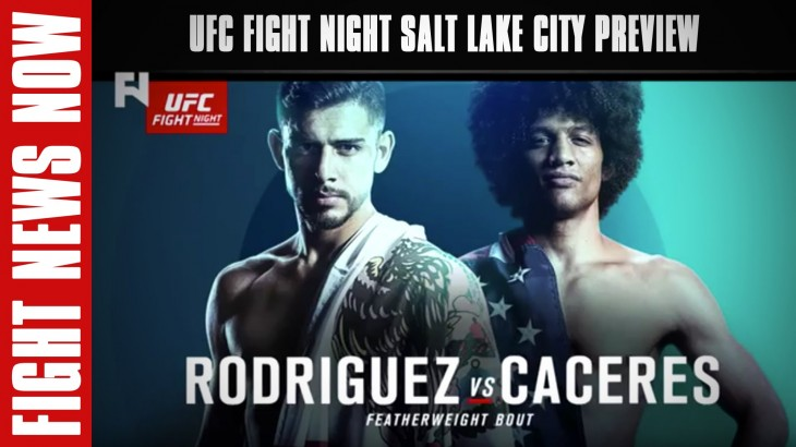 UFC Fight Night Salt Lake City Preview on Fight News Now