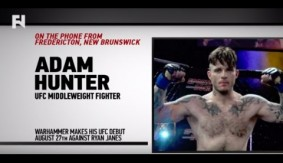 "UFC Fight Night Vancouver: Adam Hunter – ""I Train to Finish Fights Quick"""