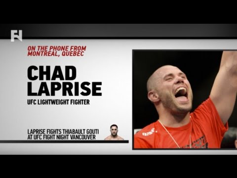 UFC Fight Night Vancouver: Chad Laprise Appreciates That He 'Gets to Fight' and Does Not 'Have to Do' It