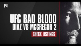 "Watch ""UFC Bad Blood: Diaz vs. McGregor 2"" on Fight Network – Check Your Local Listings"