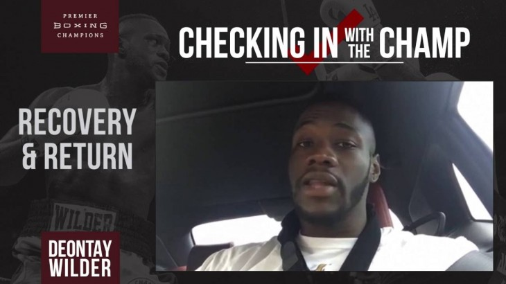 "WBC Heavyweight Champ Deontay Wilder Targets Tyson Fury and Anthony Joshua – ""That's Who I Want"""