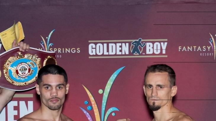 Watch LIVE at 8:30 p.m. ET – Golden Boy: Michael Perez vs. Petr Petrov