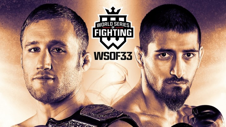 WSOF 33: Gaethje vs. Dugulubgov Main Card Complete with 6 Bouts on October 7 in Kansas City LIVE on Fight Network