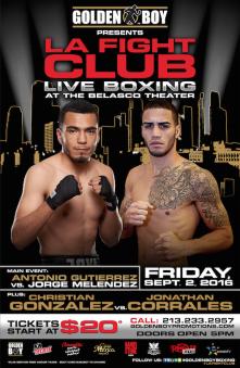 Boxing_Poster_GoldenBoy_LAFightClub_ChristianGonzalez_JonathanCorrales_2016_090216