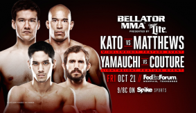 Hisaki Kato vs. AJ Matthews & Goiti Yamauchi vs. Ryan Couture Added to Bellator 162 on October 21 in Memphis