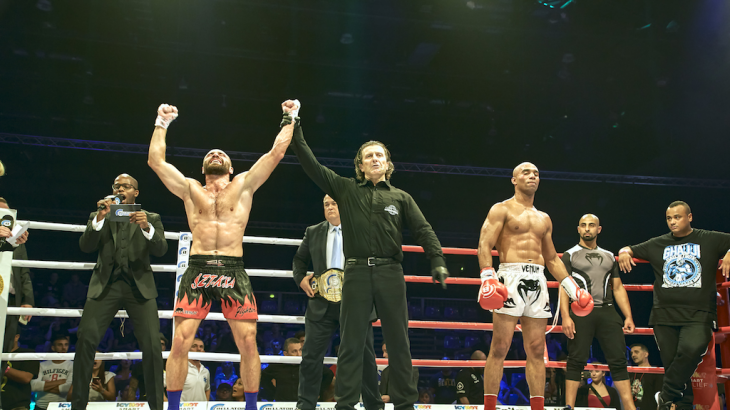 Full Report & Photos – Zoltan Laszak takes WW Title from Karim Ghajji at Bellator Kickboxing: Budapest