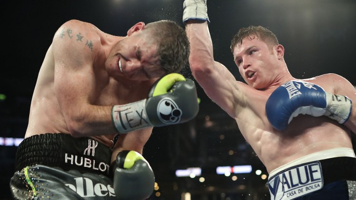 Full Report & Photos – Canelo Alvarez Takes WBO Super Welterweight Title with Knockout of Liam Smith at HBO PPV