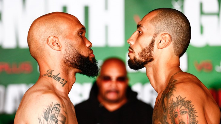 PBC on Bounce TV: Smith vs. Galarza Weigh-in Results, Video Highlights & Photos