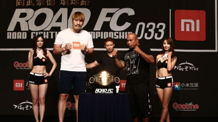 ROAD FC 033: Official Weigh-in Results & Photos