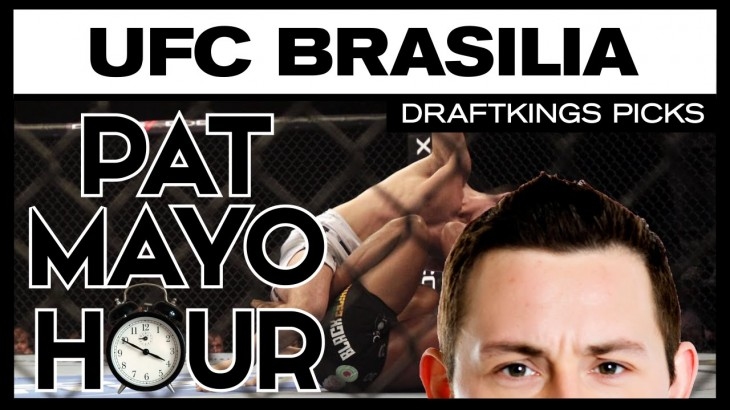 DFS MMA: UFC Brasilia DraftKings Picks & Preview