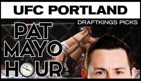 DFS MMA: UFC Fight NightPortland DraftKings Picks & Preview