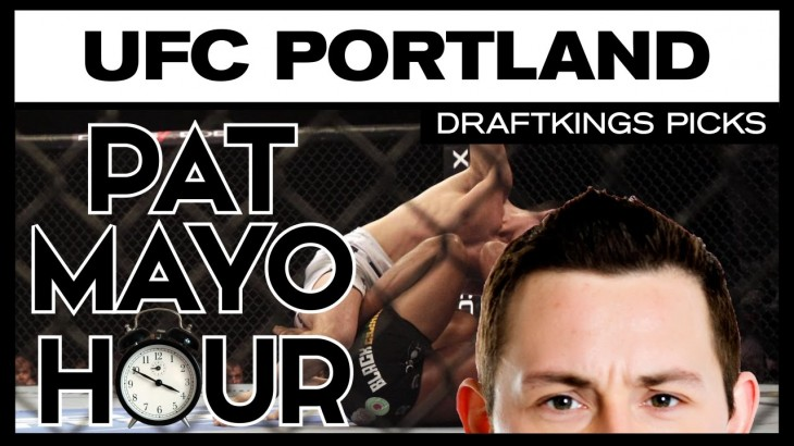 DFS MMA: UFC Fight Night Portland DraftKings Picks & Preview