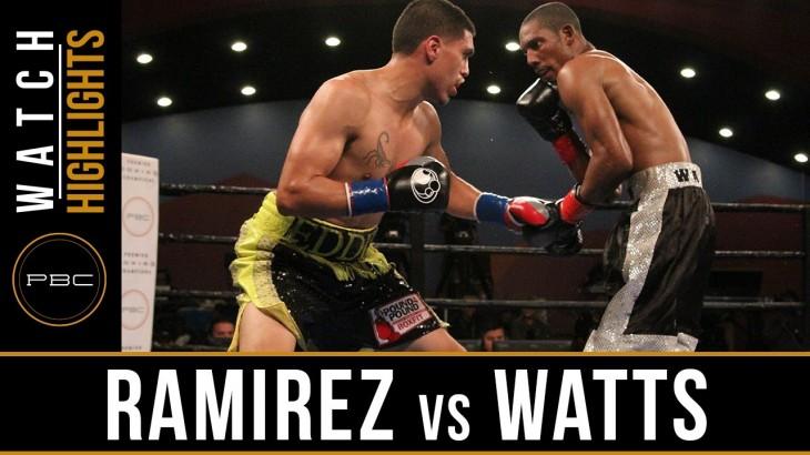 Full Report, Video Highlights & Photos – PBC on FS1: Eddie Ramirez Comes Back to KO Kevin Watts