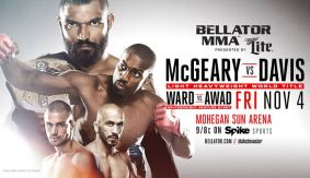 Liam McGeary vs. Phil Davis LHW Title Bout Set For Bellator 163 on Nov. 4 in Uncasville