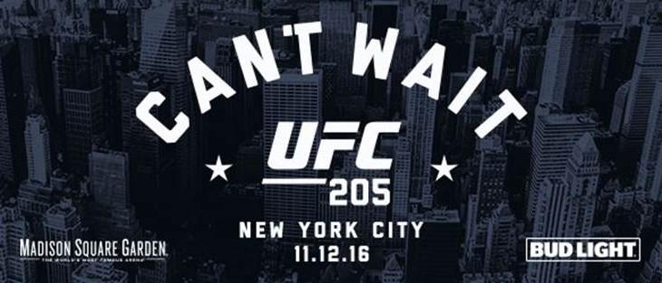 Three Title Fights Set for UFC 205 in New York City Including Eddie Alvarez vs. Conor McGregor