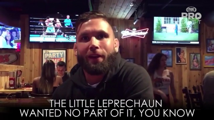 "Jeremy Stephens Responds to Conor McGregor – ""The Little Leprechaun Wanted No Part of It"