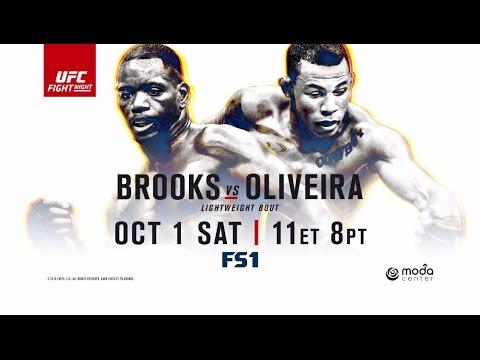 "Joe Rogan Previews Will Brooks vs. Alex ""Cowboy"" Oliveira – UFC Fight Night Portland"