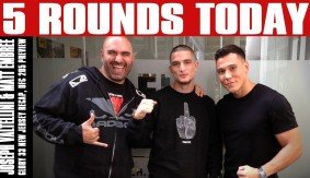 Joseph Valtellini & Matt Embree In-Studio, Plus UFC 205 Preview on 5 Rounds Today