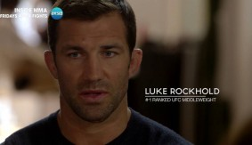 "Luke Rockhold Talks Modeling, Demi Lovato, Jacare Souza Bout – ""That's What We Call Easy Money, Right There"""