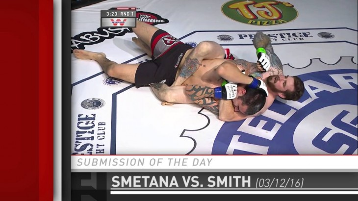 Submission of the Day: Keith Smetana Taps Devon Smith at Prestige Fight Club 2