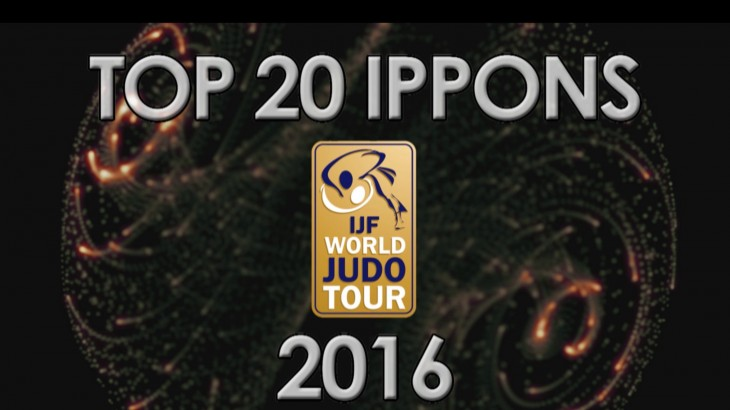 Top 20 Ippons from IJF World Judo Tour 2016