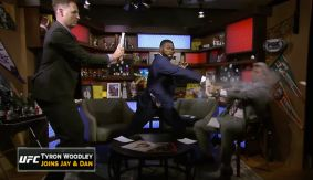 Tyron Woodley Interview with Jay Onrait & Dan O'Toole – Breaking Concrete & Ruining Suits