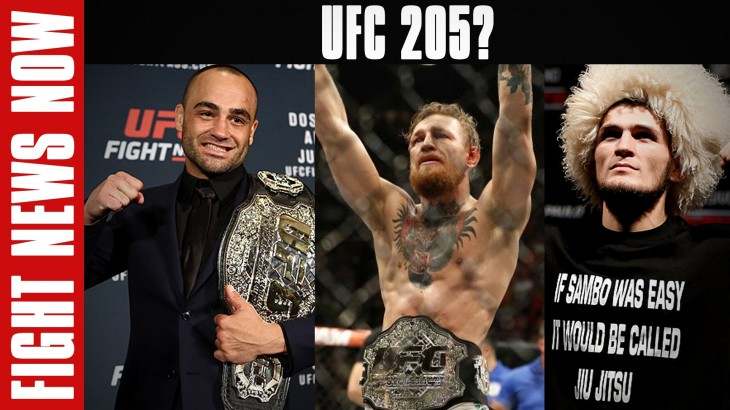 UFC 205: Alvarez vs. McGregor or Nurmagomedov, Plus 5 Fights Added on Fight News Now