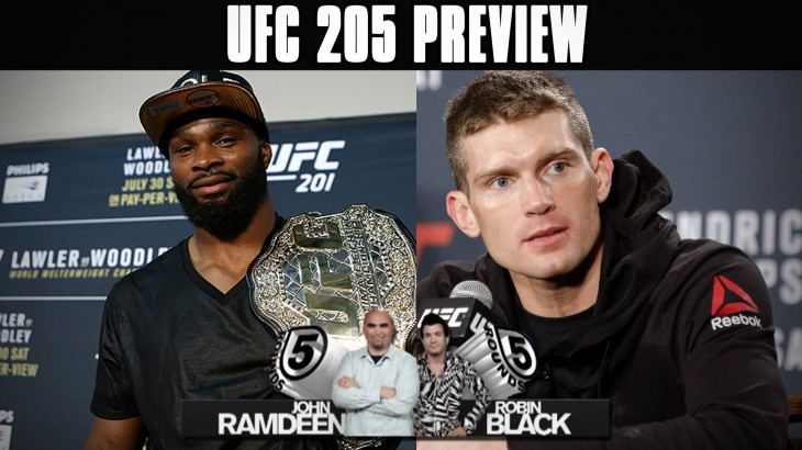 UFC 205: Tyron Woodley vs. Stephen Thompson Preview on 5 Rounds