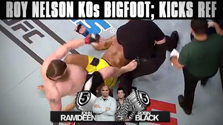 UFC Brasilia Recap: Roy Nelson Stops Antonio Silva; Kicks John McCarthy on 5 Rounds