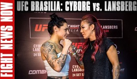 UFC Fight Night Brasilia: Cyborg vs. Lansberg Preview on Fight News Now