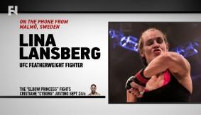 UFC Fight Night Brasilia: Lina Lansberg on Debuting vs. Cris Cyborg, Moving to MMA