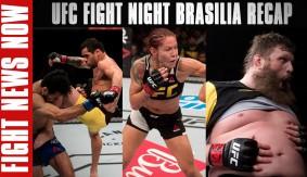 UFC Fight Night Brasilia Recap: Cris Cyborg, Renan Barao & Roy Nelson Win on Fight News Now