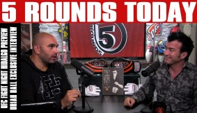 UFC Fight Night Hidalgo Preview, Uriah Hall Interview & More on 5 Rounds Today