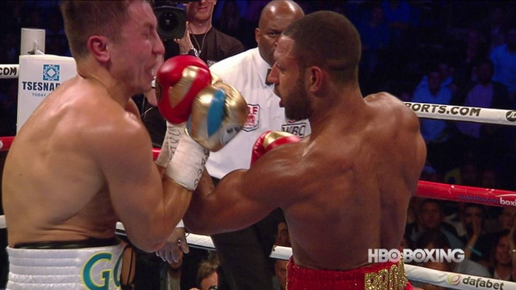 Video Highlights – Gennady Golovkin Stops Kell Brook at HBO Boxing