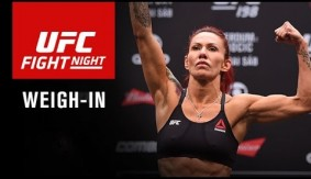 Watch LIVE at 6 p.m. ET – UFC Fight Night Brasilia: Cyborg vs. Lansberg Official Weigh-in