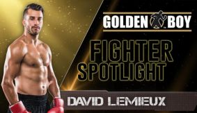 David Lemieux Profile from Golden Boy Boxing