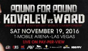 HBO PPV: Sergey Kovalev vs. Andre Ward Blog Part 1 – Monday, October 24