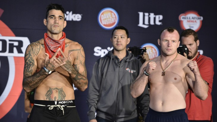 Bellator 162: Shlemenko vs. Grove Weigh-in Results & Photos