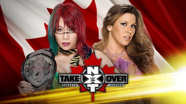 Asuka vs. Mickie James Official for Takeover in Toronto