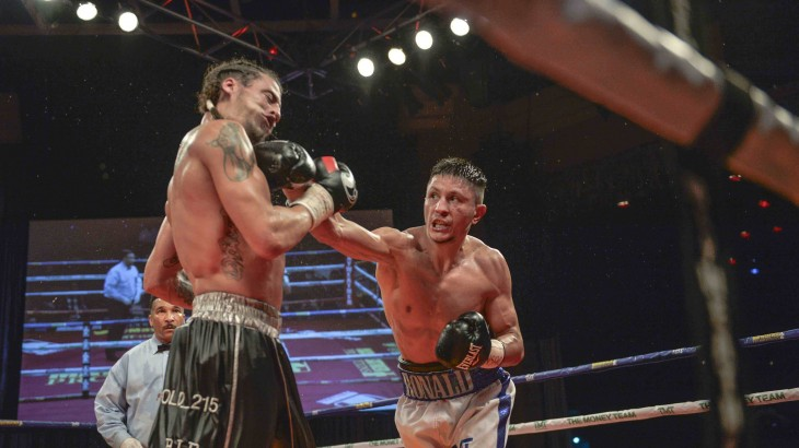 Full Report & Photos – Ronald Gavril Claims NABF Super MW Title; Stops Christopher Brooker in Round 10