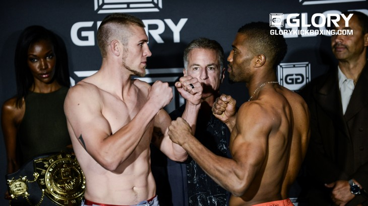 GLORY 34 Denver Weigh-in Results & Photos