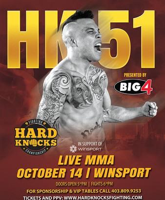 Results – Hard Knocks Fighting 51: Arjan Bhullar Stops Chris Catala