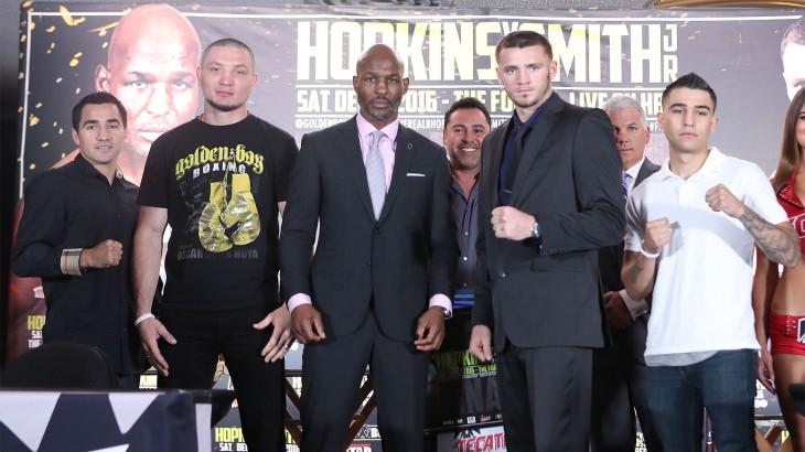 Bernard Hopkins vs. Joe Smith Press Conference Quotes & Video Replay – HBO World Championship Boxing