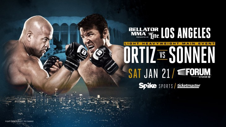 Tito Ortiz vs. Chael Sonnen Headlines Bellator 170 on January 21 in Los Angeles