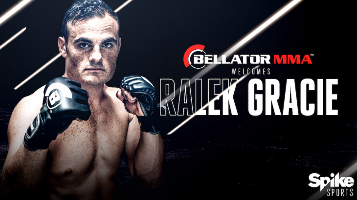 Ralek Gracie Signs with Bellator MMA