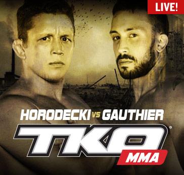 Fight Network Presents TKO 36: Resurrection Prelims & Main Card Live Across Canada on Nov. 4