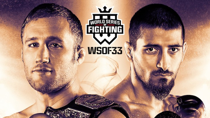 WSOF 33 LIVE this Friday at 11 p.m. ET on Fight Network