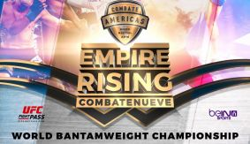 Three Bouts Added to Combate Americas: Empire Rising Oct. 14 in New York LIVE on Fight Network