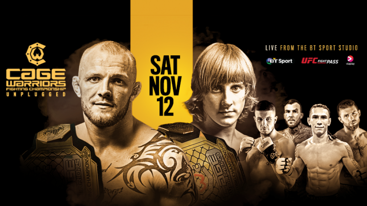 Cage Warriors: Unplugged Announced for November 12 in London